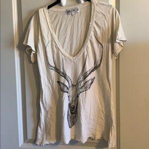 Wildfox tee with deer